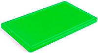 Доска кухонная зеленая 330х250х15 мм
