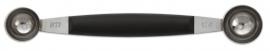 Нож карбовочный для дыни двойной 25/22 мм диам.